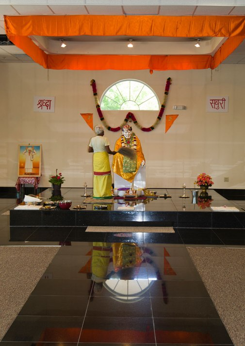 Sri Sai Baba Temple, Nashville, TN. Photo By Raj H.