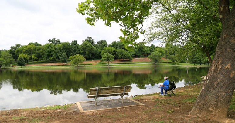 Shelby Park, Nashville, TN. Photo By Raj H.