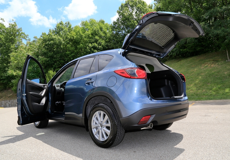 2015 Mazda CX-5 Touring AWD. Photo By Raj H.
