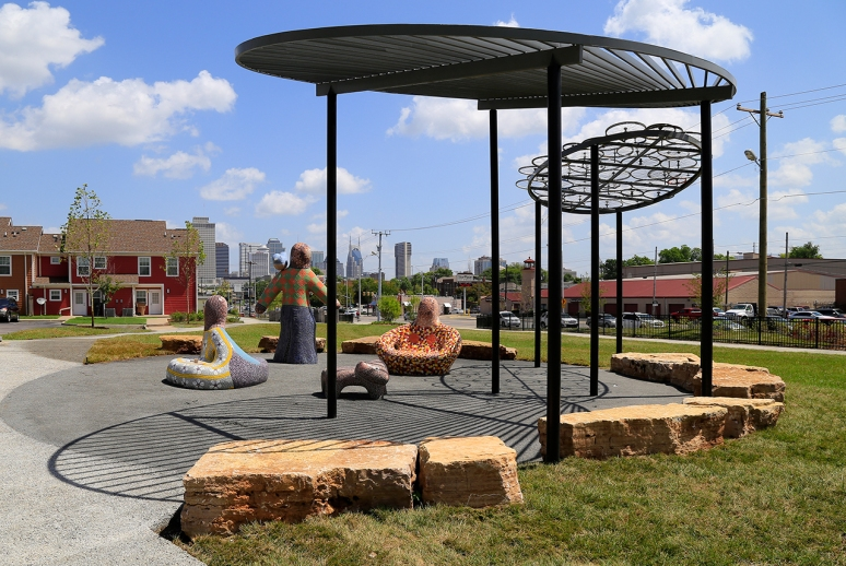 William Edmondson Park, Nashville, TN. Photo by Raj H.