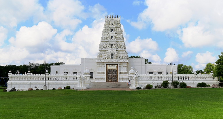 Hindu Temple & Cultural Center of IOWA. Photo By Raj H.