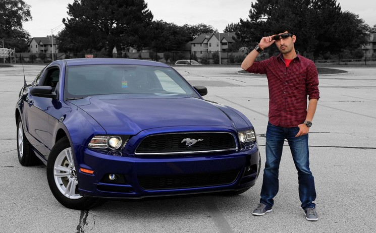Mustang 2014. Model: Thirush. Photo By Raj H.