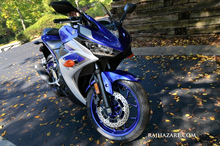 2015 Yamaha R3. Photo by Raj H.