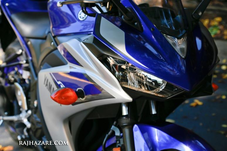 2015 Yamaha R3. Photo by Raj H.