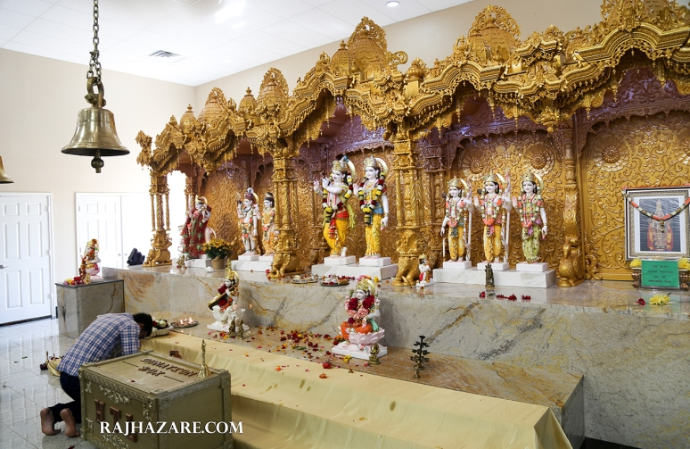 Hindu Temple of Lubbock. TX. Photo by Raj H.