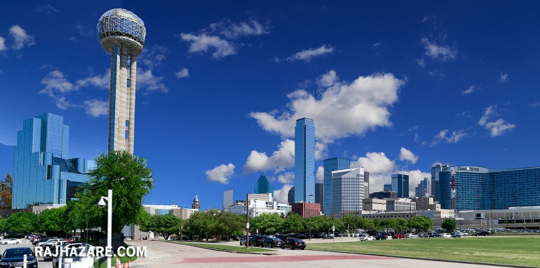 Downtown Dallas.  Photo by Raj H.